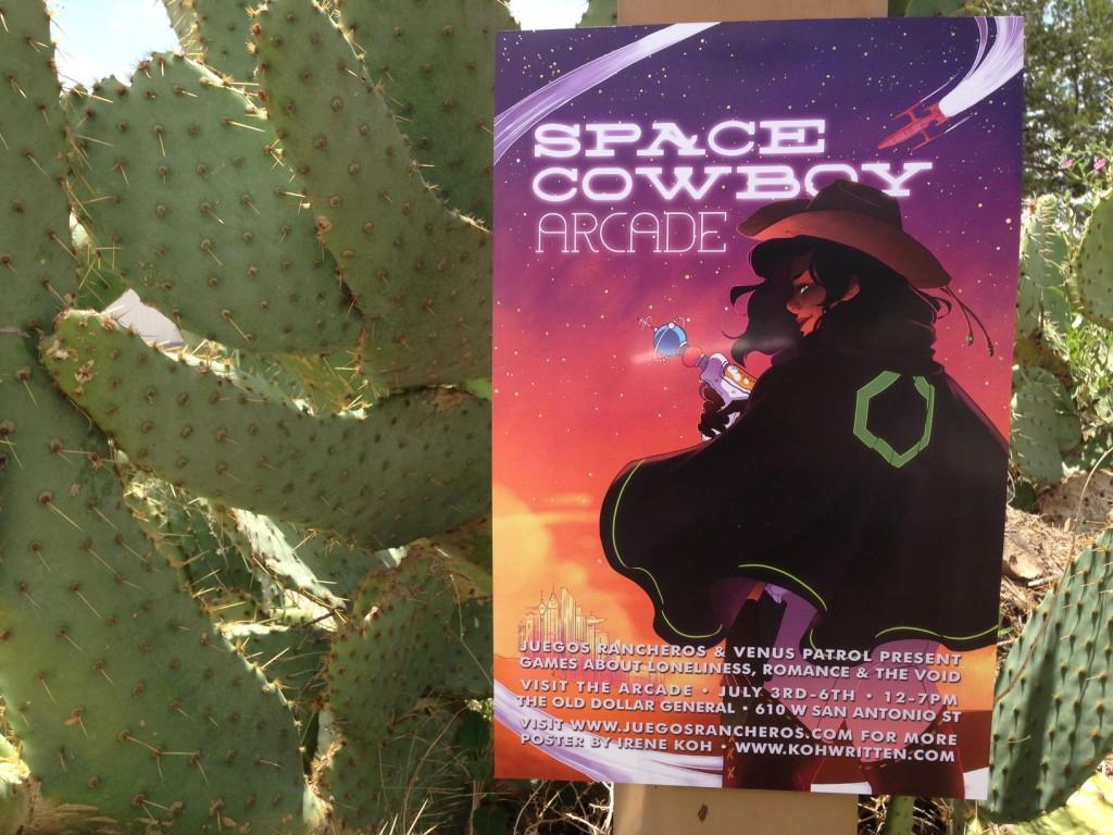 Greetings From The Space Cowboy Arcade Juegos Rancheros